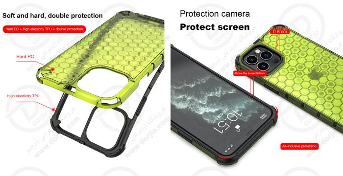 گارد ضد ضربه هیبریدی گوشی iPhone 12 Pro Max