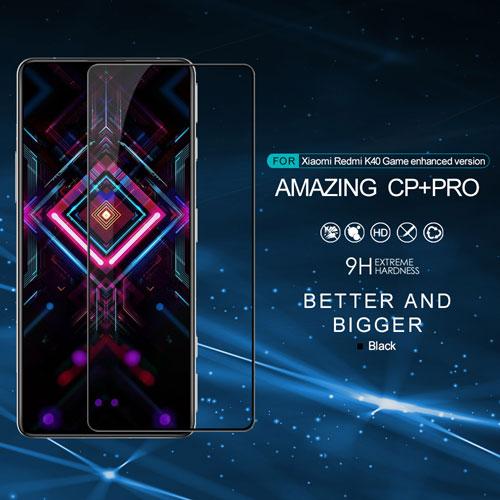 گلس CP+PRO نیلکین گوشی Xiaomi Redmi K40 Gaming