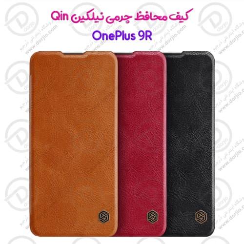 کیف چرمی نیلکین گوشی OnePlus 9R