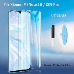 گلس UV تمام صفحه شیائومی Mi Note 10 Pro