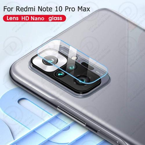 محافظ لنز شیشهای دوربین شیائومی Redmi Note 10 Pro/10 Pro Max