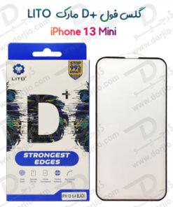 گلس فول +LITO D گوشی iPhone 13 Mini