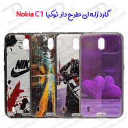 گارد ژلهای طرح دار نوکیا Nokia C1