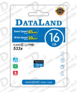 کارت حافظه Micro SD 16GB Class 10 U1 مارک DataLand