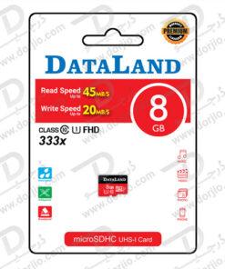 کارت حافظه Micro SD 8GB Class 10 U1 مارک DataLand